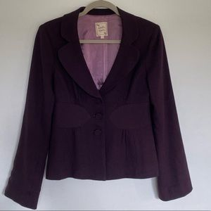 Purple Nanette Lepore jacket
